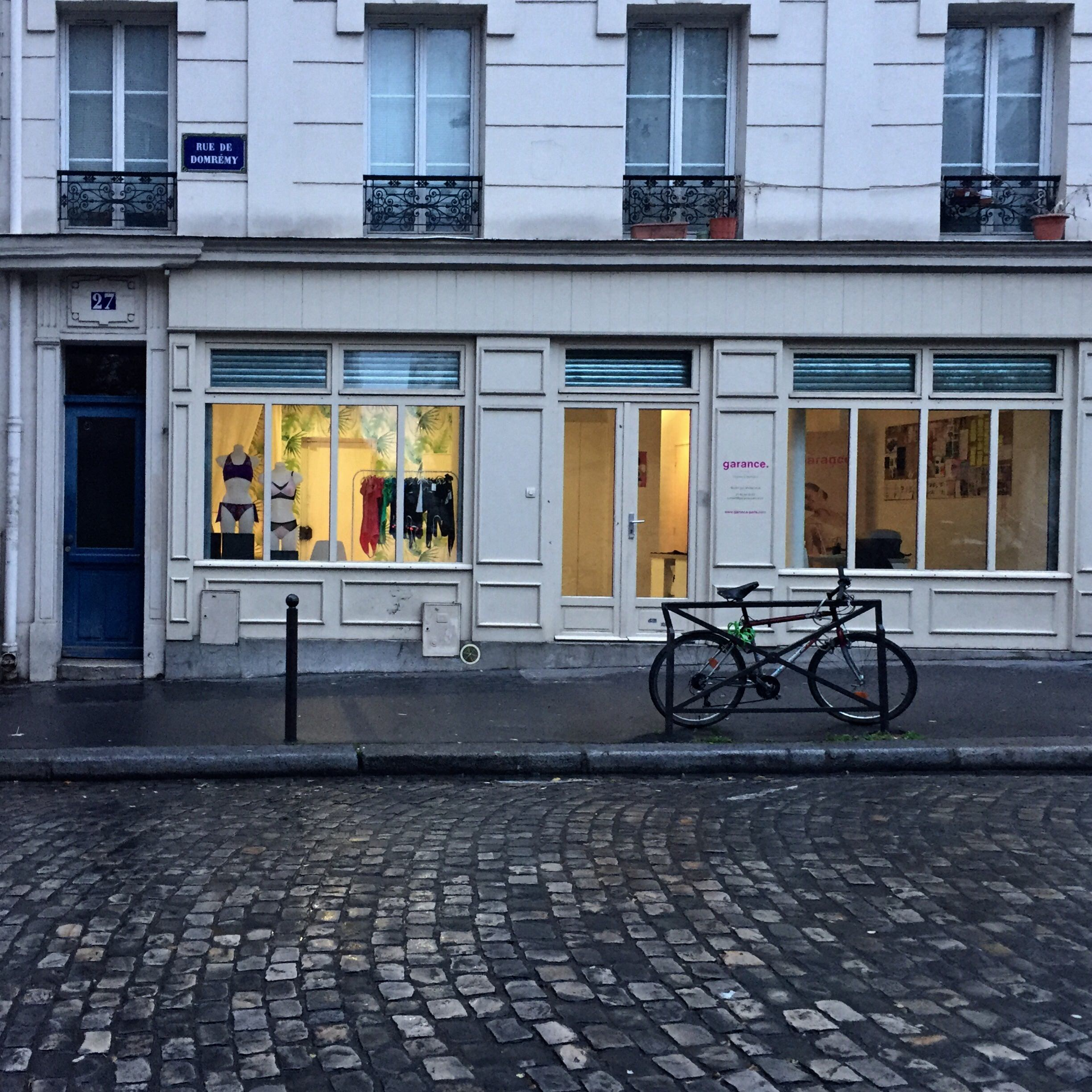 Boutique - showroom Garance