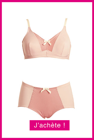 Collection lingerie post-opératoire Garance