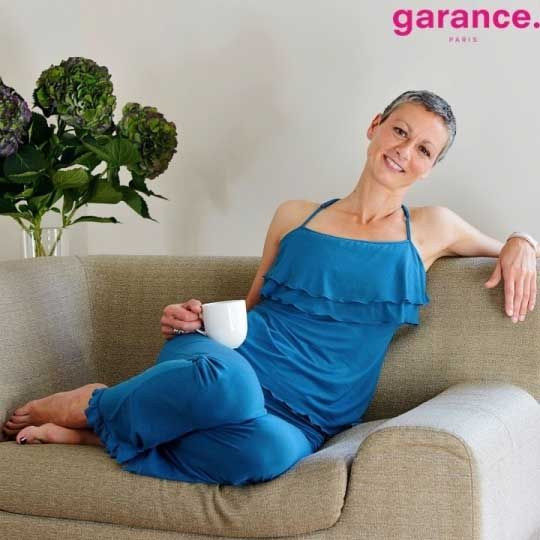 Pyjama Bleu Cobalt - BEATRIX