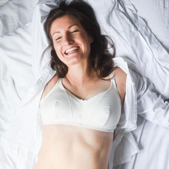 24H ivoire - Soutien gorge pour prothèse mammaire