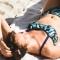Tâches Bandeau - Haut de maillot de bain 2P pour prothèse mammaire