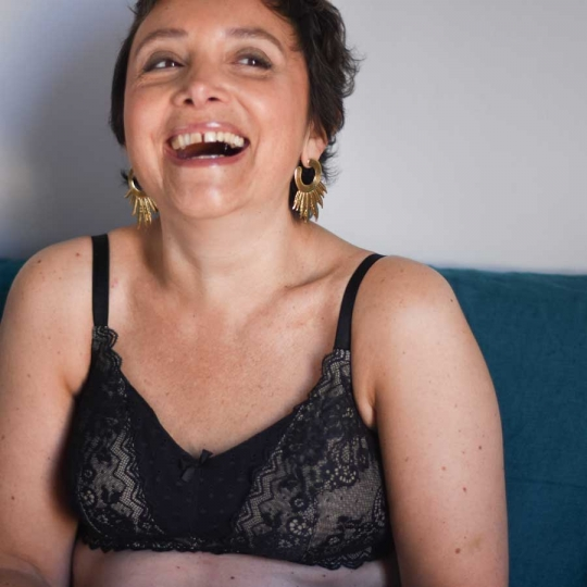 Sexy dentelle - Soutien-gorge sans armature avec poches