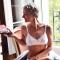 MATHILDE - Soutien-gorge en coton blanc pour prothèse mammaire