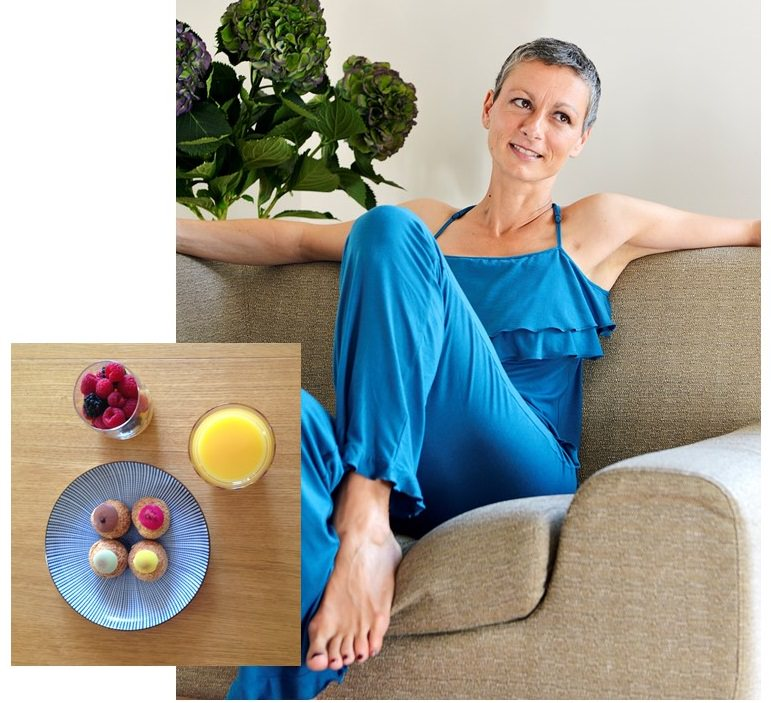 Pyjama Garance post mastectomie