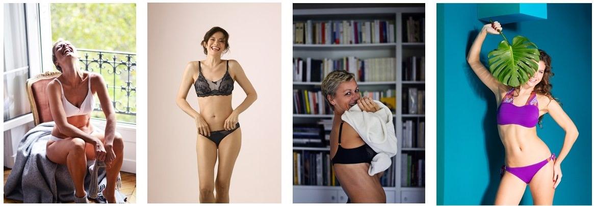 garance, lingerie et maillots de bain post cancer du sein