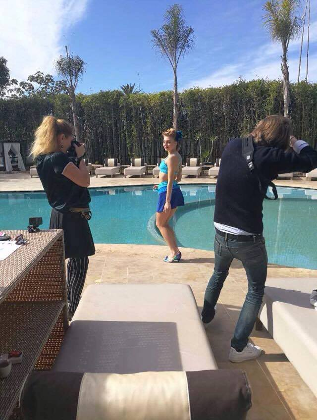 Stella Cadente - shooting photo Garance