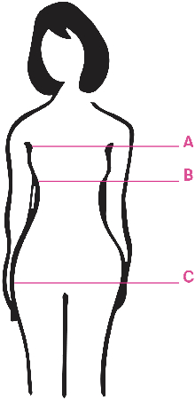 Sizing guide illustration
